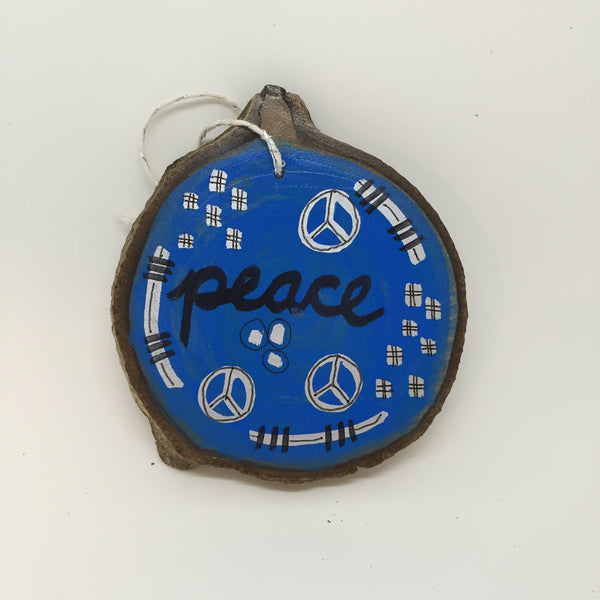 One of a Kind Peace Ornament