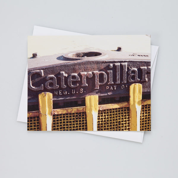 A2 Flat Card: Caterpillar