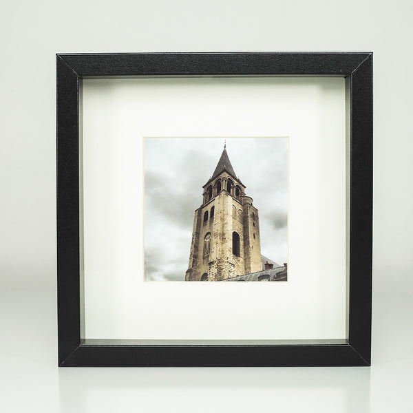 9 x 9 framed photograph: Oldest Church in Paris