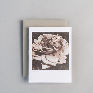 A2 Folded Card - spring rose
