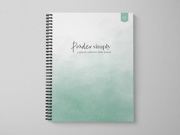 April 2020 General Conference Wide Margin Journal