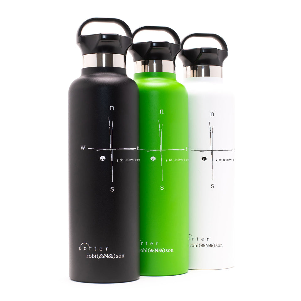 compass water bottle