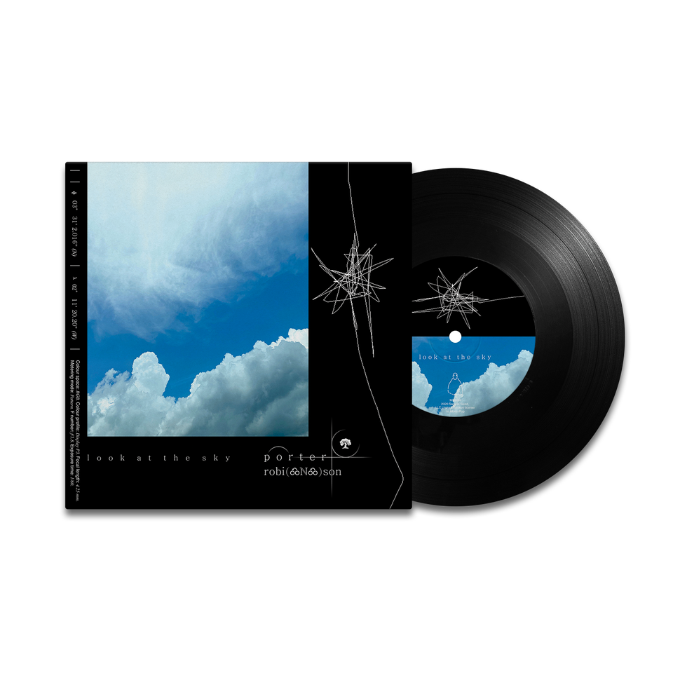 "look at the sky 7"" vinyl"