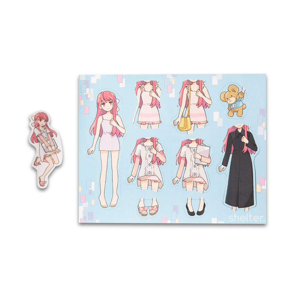 Rin Dress-Up Magnet Set