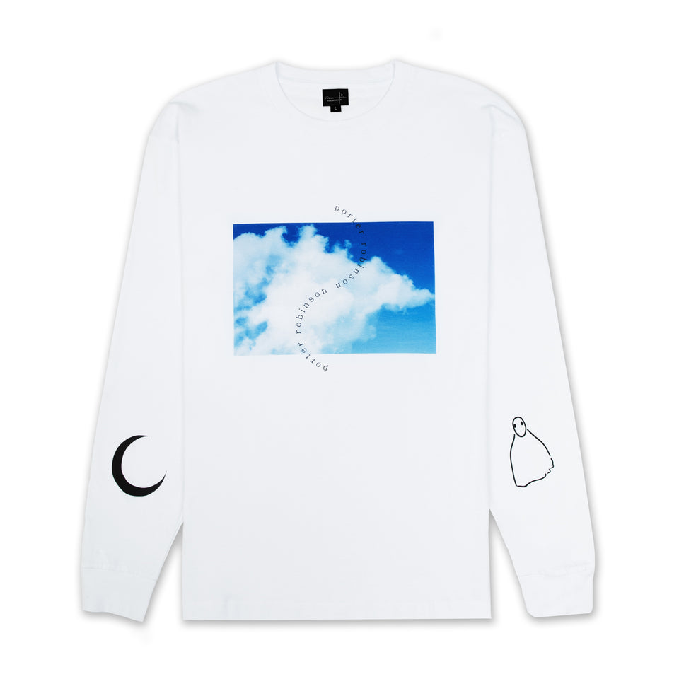 sky / moon / ghost long sleeve