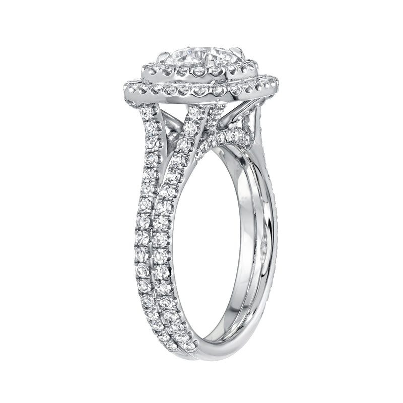 Miranda Double Halo Diamond Ring
