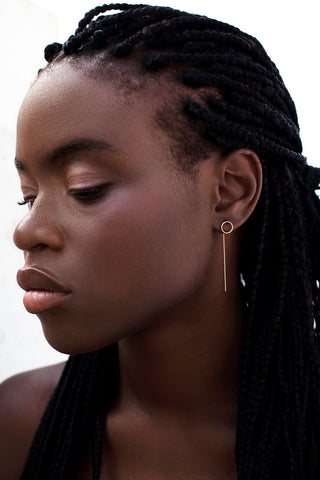 Minimalist ear jewelry: ear climbers, ear cuffs, earrings for any occasion