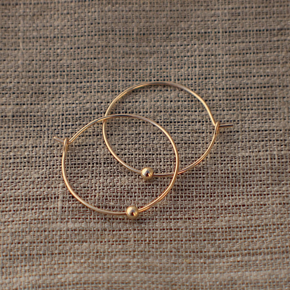 Tourelle Hoop Earrings