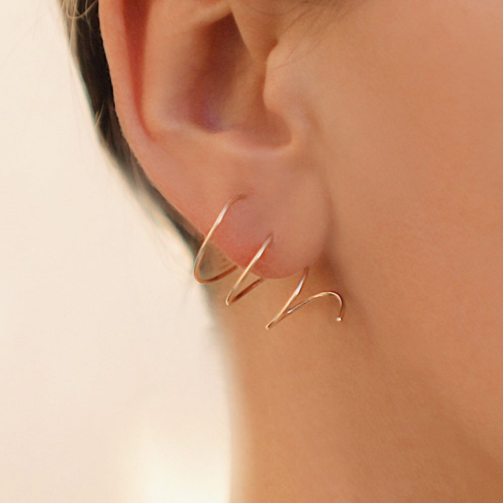 Windblast Earrings