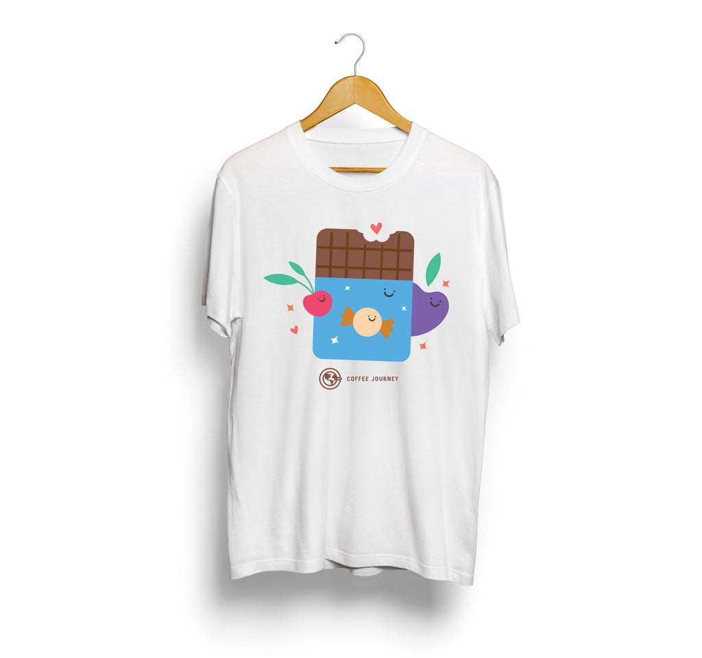 Coffee Journey T-Shirt - Chocolate