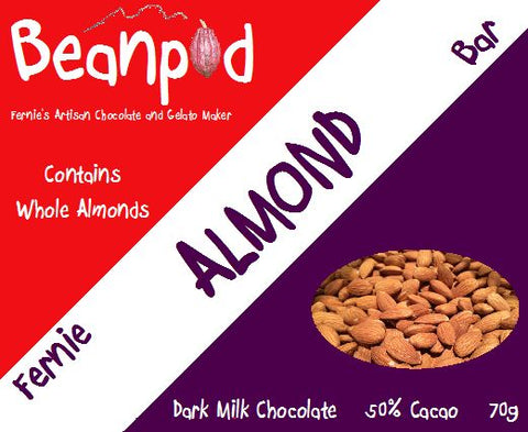 Fernie Dark Milk Almond Bar