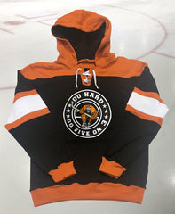 Hockey Hoody 2016 Orange and Black