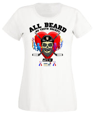 All Beard No Teeth Charity Lady Fit Tee