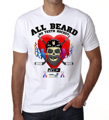 All Beard No Teeth Charity T Shirt