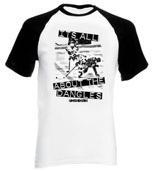 Its All About The Dangles Base Ball Style Short Sleeve Tee