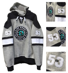 Aqua Hockey Hoody