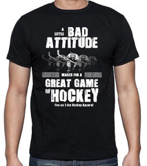 Bad Attitude Black T Shirt