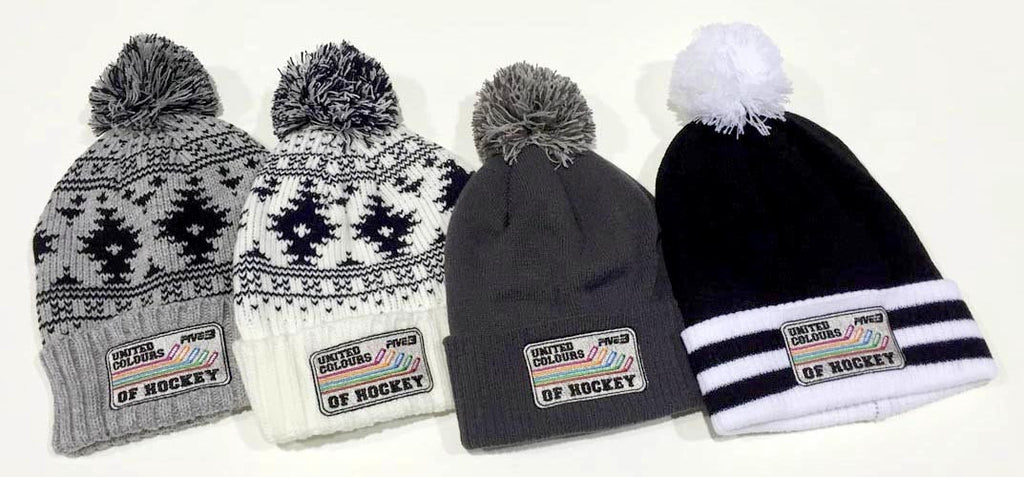 United Colours of Hockey Bobble Hats
