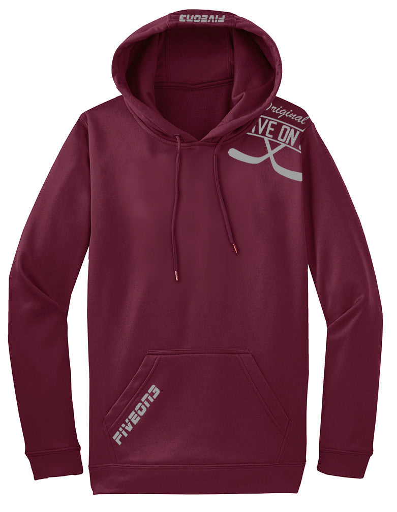 Performance Hoody (Burgundy)