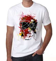Calgary Splat Attack Goalie Mask T Shirt