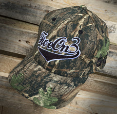 Five On 3 Cammo Cap