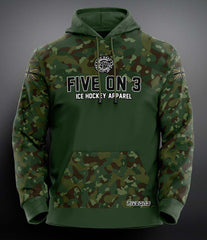 Cammo Sports/Performance Hoody