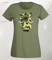 Cammo Lady Fit Tee