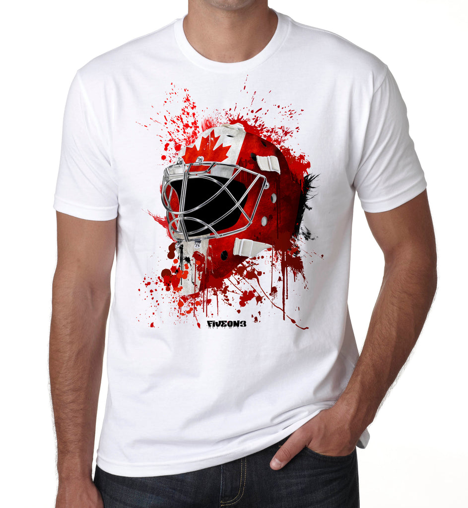 Canada Splat Attack Goalie Mask T Shirt