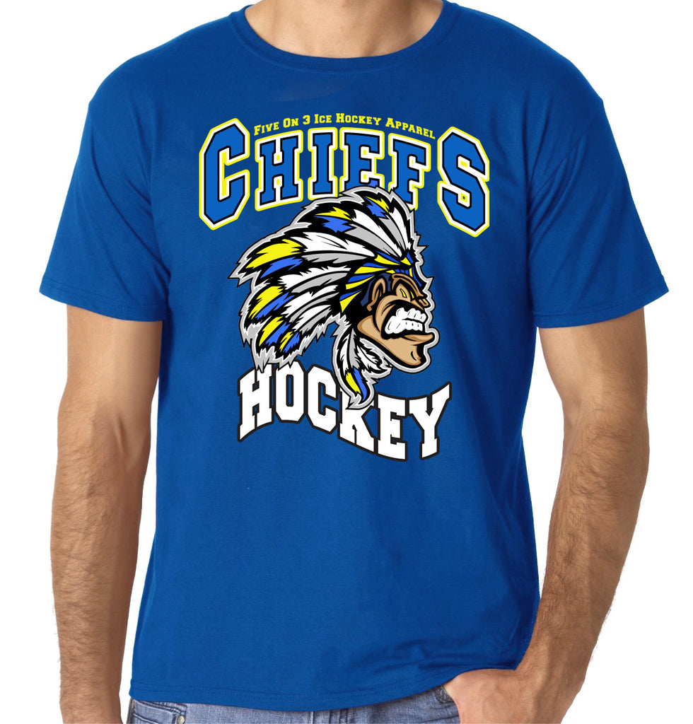 Five On 3 Chiefs Hockey T Shirt