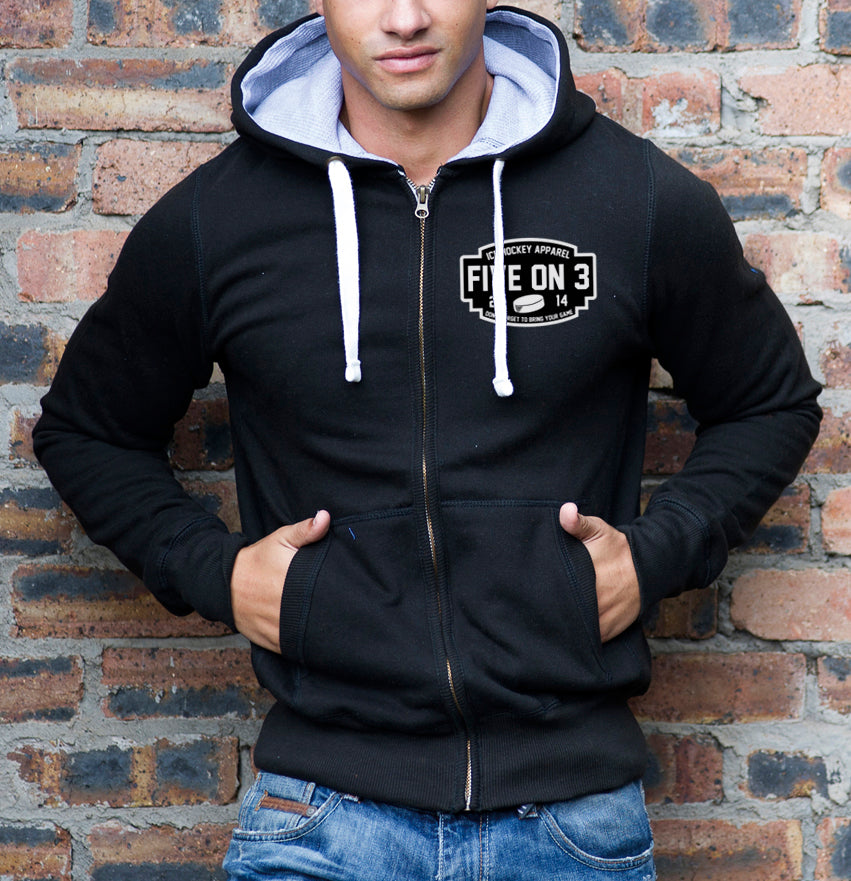 Don't Forget Chunky Zip Up Hoody