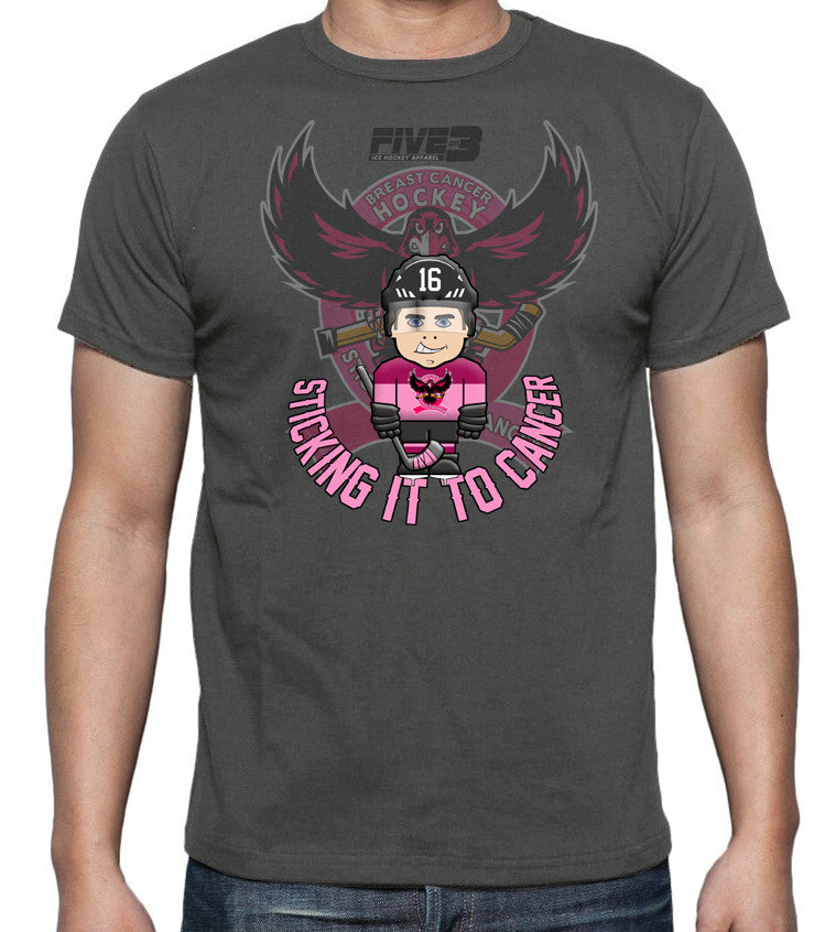 "Breast Cancer Hockey ""MiniPuckers"" Tee Shirt"
