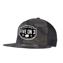 Don't Forget Cammo Snapback Cap