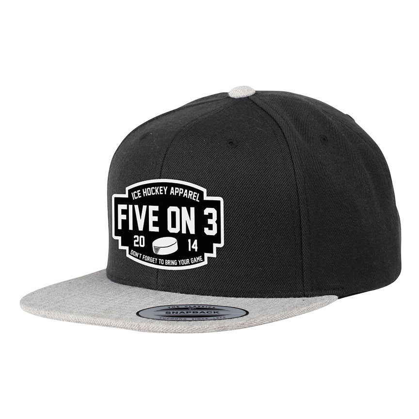 Don t Forget Contrast Snapback Cap – Five on 3 05a5abc0746