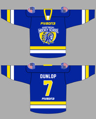 Reggie Dunlops Hockey School Five On 3 Jersey