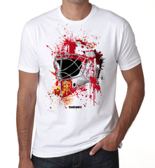 England Splat Attack Goalie Mask T Shirt