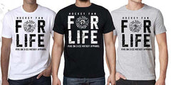 Hockey Fan For Life T Shirt