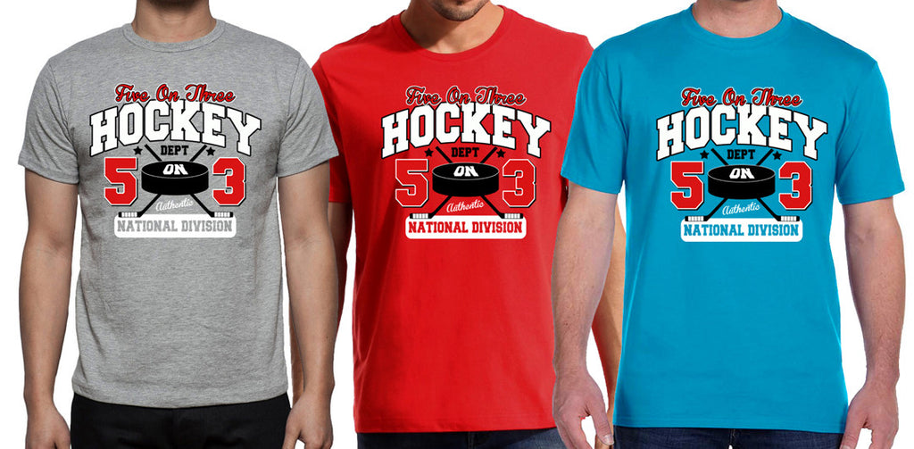 Five on 3 Hockey Dept Tee