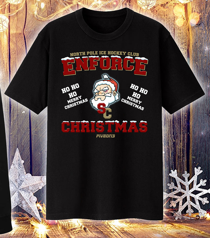 Enforce Christmas T Shirt Adult