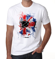 Great Britain Splat Attack Goalie Mask T Shirt
