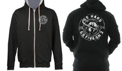 Go Hard Zip Up Hoody