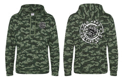 Go Hard Camo Hooded Sweat Top