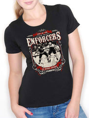 Last of the Enforcers Lady Fit Tee