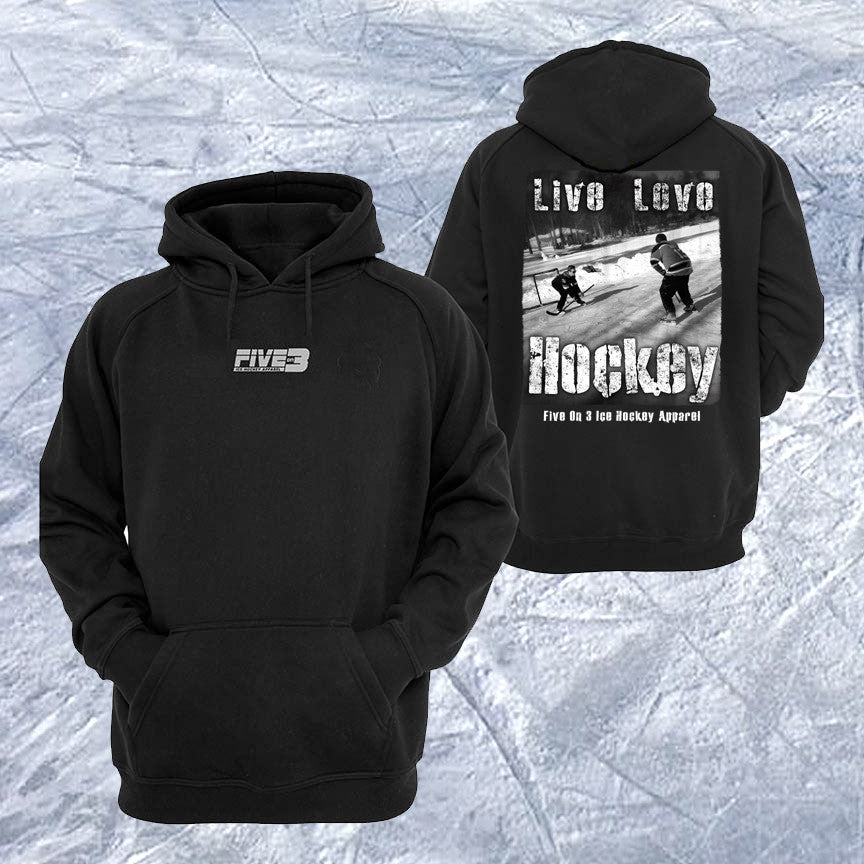 Live Love Hockey Hoody