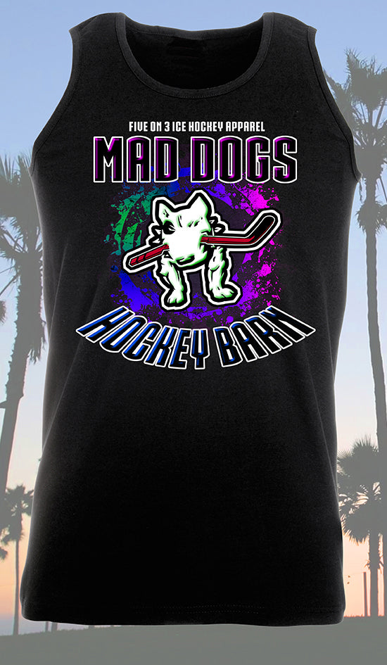 Mad Dogs Hockey Barn Unisex Vest Top