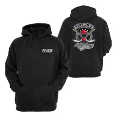 Five On 3 Cross Sticks Hoody