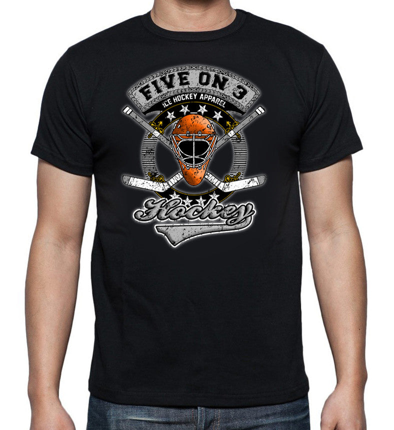 Five on 3 Cross Sticks Tee