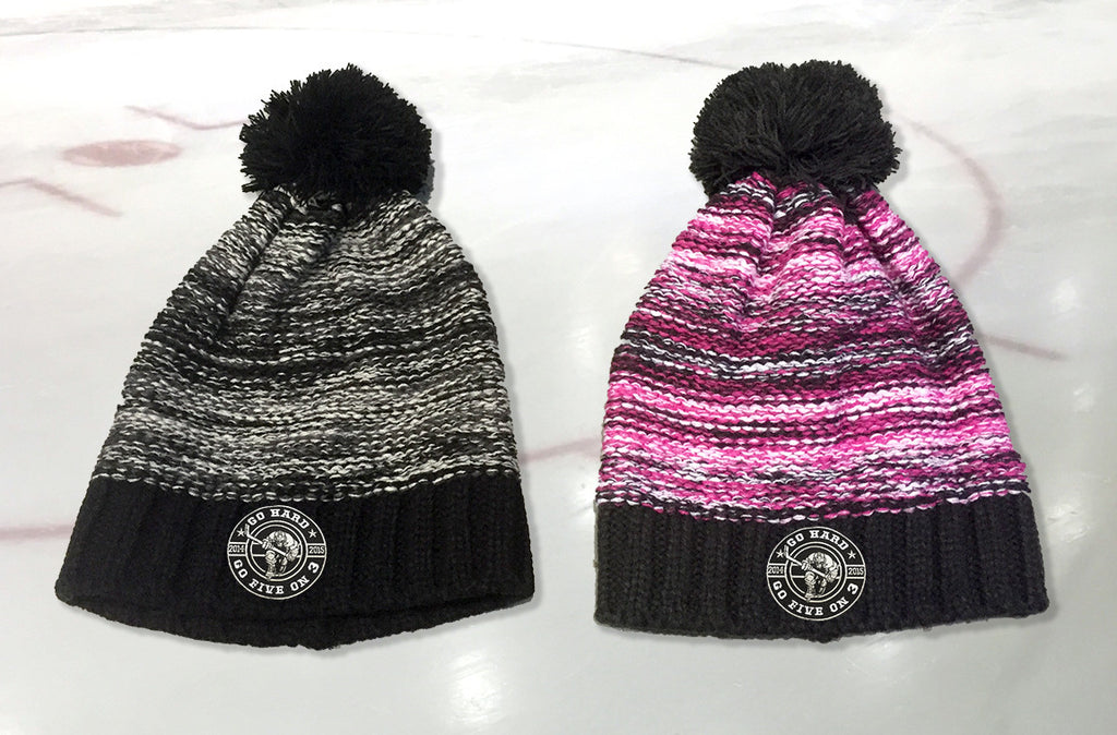 Go Hard Rink Side Bobble Hats