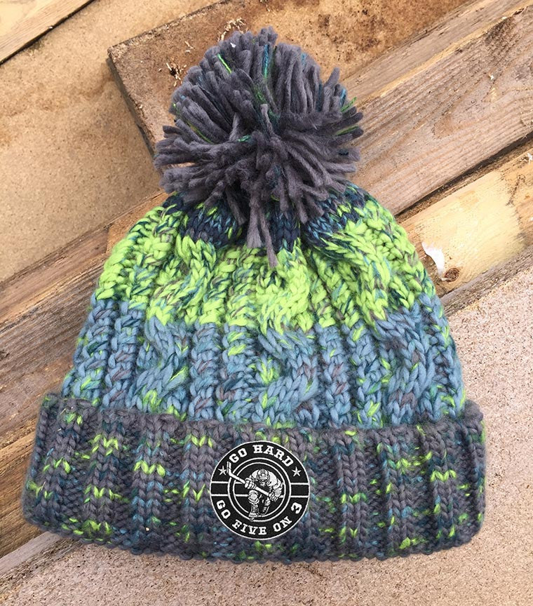 New Rink Side Bobble Hat