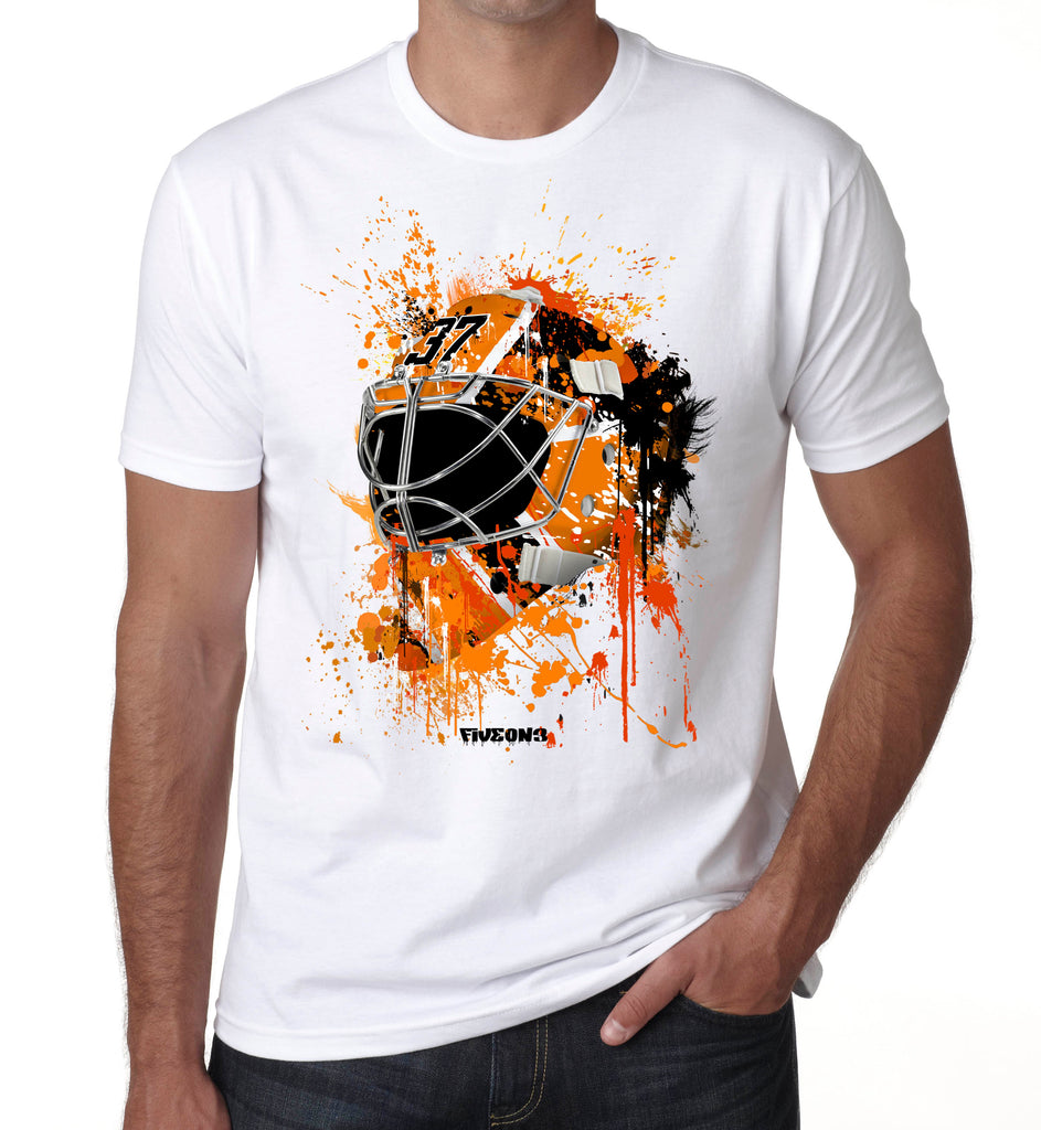 Philadelphia Splat Attack Goalie Mask T Shirt