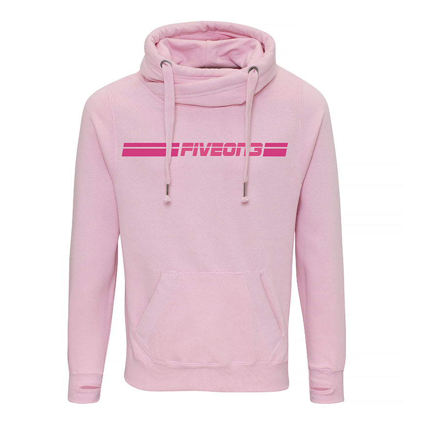 Pink Five On 3 Heavyweight Hoody